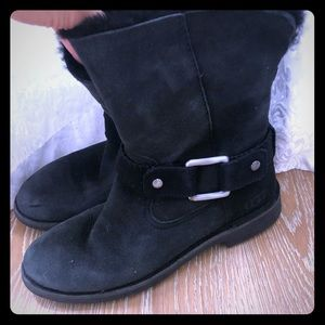 UGG Cedric Genuine Shearling Lined Boot